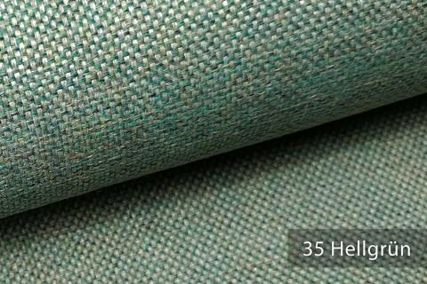 novely® LARISO | Polsterstoff | Möbelstoff | Webstoff | Struktur-Stoff | Mélange | natürlicher Look in 20 Farben | 35 Hellgrün