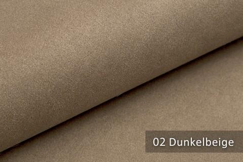 novely® LATHEN Veloursleder Wildleder-Optik 12 Farben Rückseitenvlies Möbelstoff | Farbe 02 Dunkelbeige