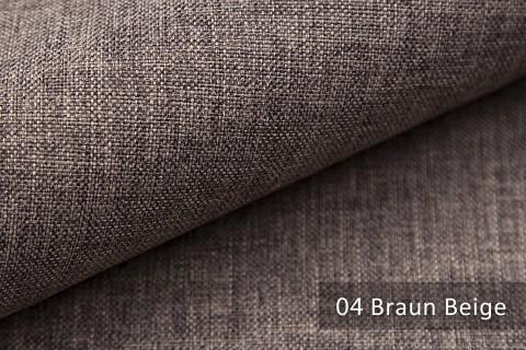 novely® LUSO Webstoff | Polsterbezugsstoff | Farbe 04 Braun Beige