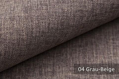 novely® LUSO Webstoff | Polsterbezugsstoff | Farbe 04 Grau Beige