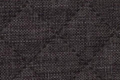 novely® LUSO Webstoff | 3-LAGIG gesteppt kaschiert | Volumen Polsterstoff | KARO RAUTE XL 10x10cm 07 Schwarz-Braun