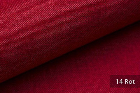 novely® LUSO Webstoff | Polsterbezugsstoff | Farbe 14 Rot