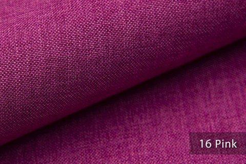 novely® LUSO Webstoff | Polsterbezugsstoff | Farbe 16 Pink