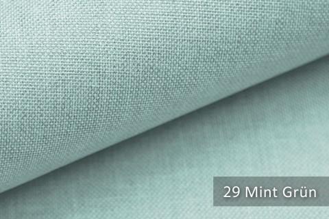 novely® LUSO Webstoff | Polsterbezugsstoff | Farbe 29 Mint Grün