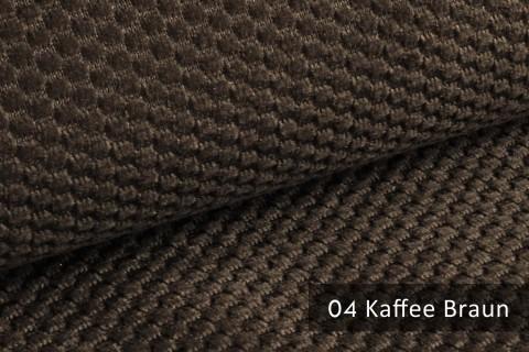 novely® MAKAO – moderner und kuscheliger Möbelstoff mit Wabenmuster, ultraweich | 04 Kaffee Braun