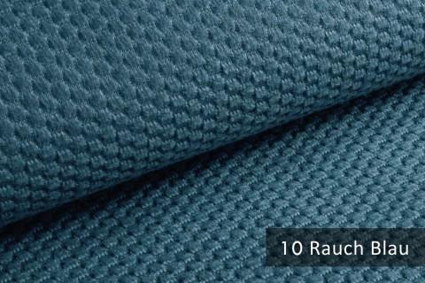 novely® MAKAO – moderner und kuscheliger Möbelstoff mit Wabenmuster, ultraweich | 10 Rauch Blau