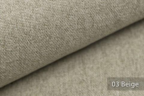 novely® MALCHIN | flauschiger Polsterstoff im Leinenlook | Farbe 03 Beige