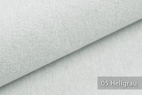 novely® MALCHIN | flauschiger Polsterstoff im Leinenlook | Farbe 05 Hellgrau
