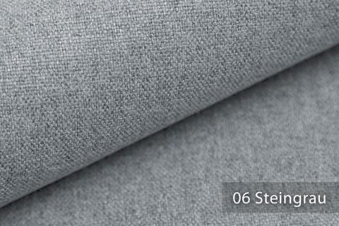 novely® MALCHIN | flauschiger Polsterstoff im Leinenlook | Farbe 06 Steingrau