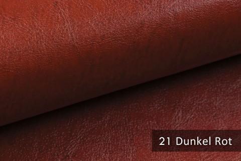 novely® MARGOTH – Glattes glänzendes Kunstleder im Antik-Look | 21 Dunkel-Rot