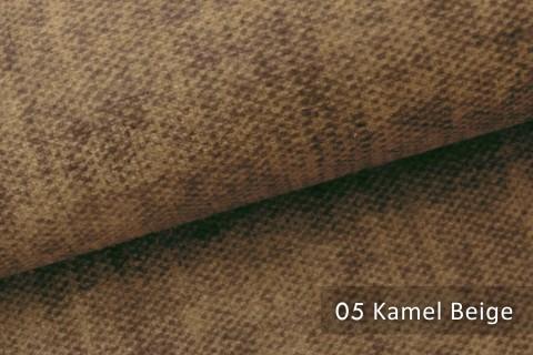novely® MARLOW Möbelstoff, Velours, samtig weicher Polsterstoff | 05 Kamel Beige