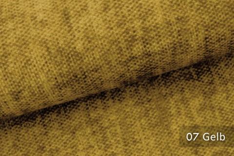 novely® MARLOW Möbelstoff, Velours, samtig weicher Polsterstoff | 07 Gelb
