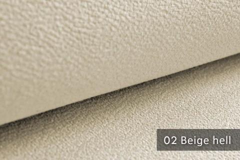novely® exquisit MILANO - ultraweicher Polsterstoff in Echtleder-Optik, schwer entflammbar | 02 Beige Hell