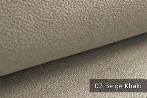 novely® exquisit MILANO - ultraweicher Polsterstoff in Echtleder-Optik, schwer entflammbar | 03 Beige Khaki