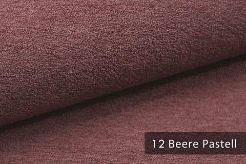 novely® MOERS - feiner Bouclé Polsterstoff Möbelstoff außergewöhnliche Optik | 12 Beere Pastell