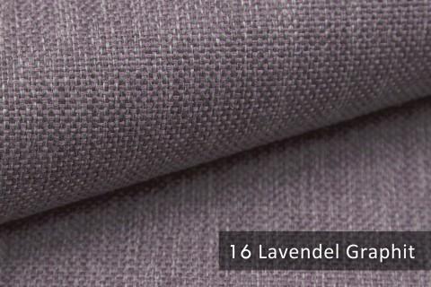 novely® MUDAU Möbelstoff   Polsterstoff   Farbe 16 Lavendel Graphit