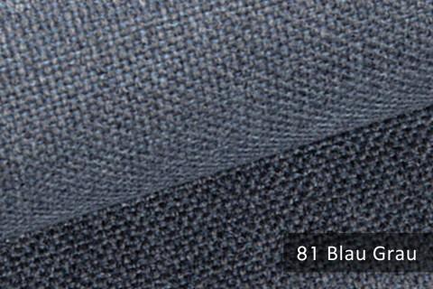 novely® MUDAU Möbelstoff | Polsterstoff | Farbe 81 Blau Grau