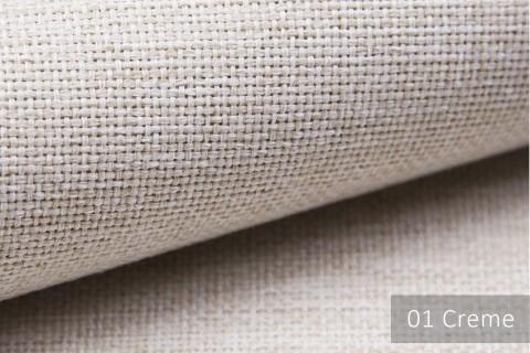 novely® MUDAU Möbelstoff | Polsterstoff | Farbe 01 Creme