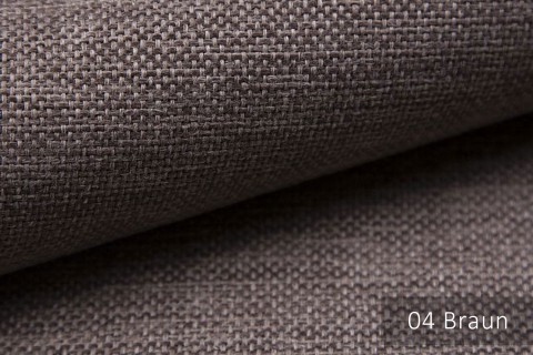 novely® MUDAU Möbelstoff | Polsterstoff | Farbe 04 Braun