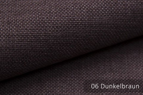 novely® MUDAU Möbelstoff | Polsterstoff | Farbe 06 Dunkelbraun