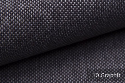novely® MUDAU Möbelstoff | Polsterstoff | Farbe 10 Graphit
