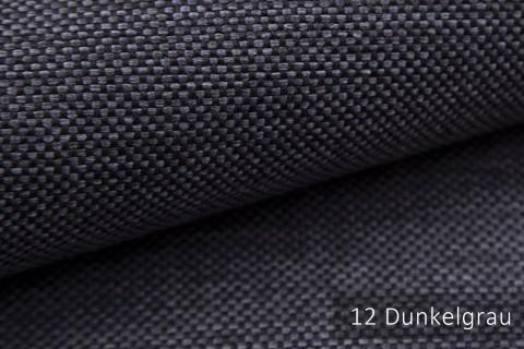 novely® MUDAU Möbelstoff | Polsterstoff | Farbe 12 Dunkelgrau