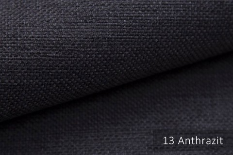 novely® MUDAU Möbelstoff | Polsterstoff | Farbe 13 Anthrazit