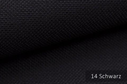 novely® MUDAU Möbelstoff | Polsterstoff | Farbe 14 Schwarz