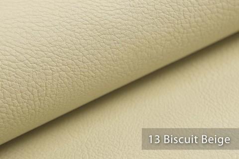 novely® NEUSS - genarbtes Kunstleder matt Möbelstoff Bezugsstoff Polsterstoff PU | Farbe 13 Biscuit Beige
