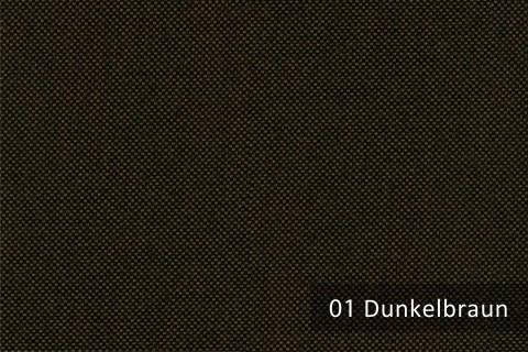 novely® OXFORD 330D Leinenlook | Farbe 01 Dunkelbraun