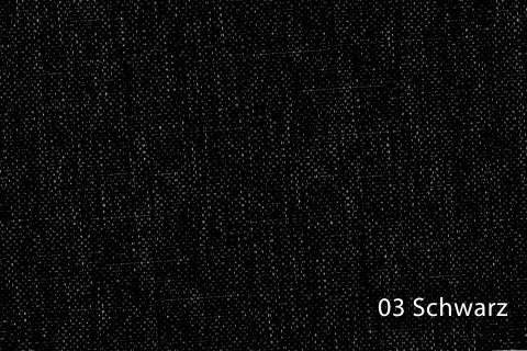 novely® OXFORD 330D Leinenlook | Farbe 03 Schwarz