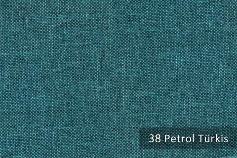 novely® OXFORD 330D Leinenlook | Farbe 38 Petrol Türkis