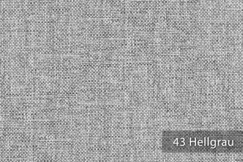 novely® OXFORD 330D Leinenlook | Farbe 43 Hellgrau