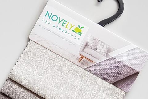 novely® GONZO robuster Möbelstoff in feiner Bouclé Optik | Ultra-Clean-Effekt | 16 Petrol