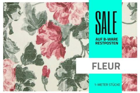 novely® FLEUR Möbelstoff | Restposten | 2.Wahl | B-WARE