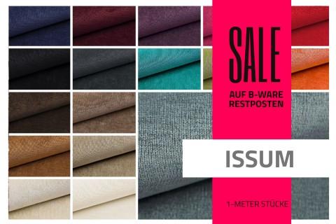 novely® ISSUM Samtstoff | Restposten | 2.Wahl | B-WARE