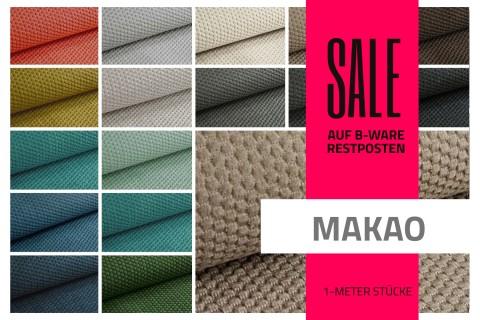 novely® MAKAO Möbelstoff | Restposten | 2.Wahl | B-WARE