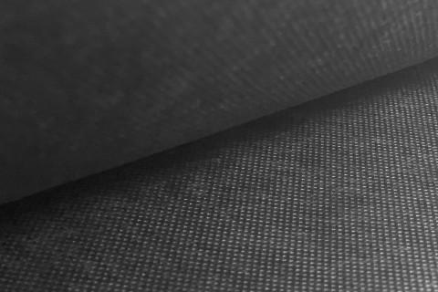 novely® Rückseitenvlies Spannvlies Inlettstoff Innenstoff  Polstervlies 80 g/m2 | 1 lfm x 160cm | Schwarz