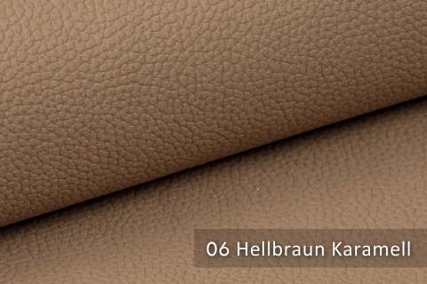 novely® exquisit OLIVERA - edles und weiches Lederimitat - schwer entflammbar | 06 Hellbraun Karamell