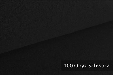 novely® ONTREAL Möbelstoff in Wolloptik   100 Onyx Schwarz