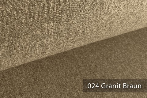 novely® ONTREAL Möbelstoff in Wolloptik   24 Granit Braun