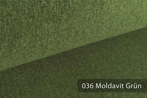novely® ONTREAL Möbelstoff in Wolloptik | 36 Moldavit Grün