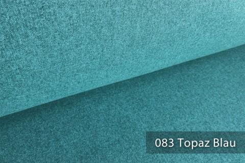 novely® ONTREAL Möbelstoff in Wolloptik | 83 Topaz Blau