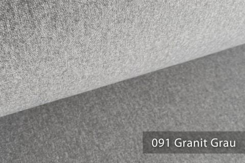 novely® ONTREAL Möbelstoff in Wolloptik | 91 Granit Grau