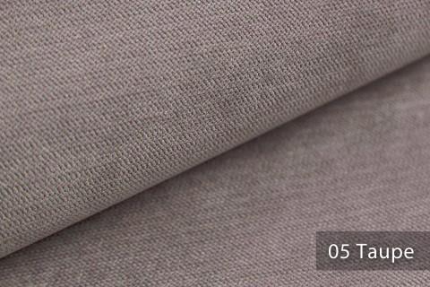 novely® ORMONT samtig weicher Chenille in 18 Farben Polsterstoff Möbelstoff | Farbe 05 Taupe