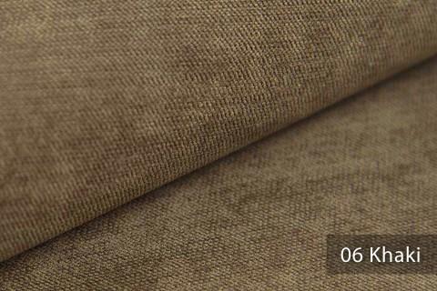 novely® ORMONT samtig weicher Chenille in 18 Farben Polsterstoff Möbelstoff   Farbe 06 Khaki