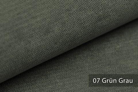 novely® ORMONT samtig weicher Chenille in 18 Farben Polsterstoff Möbelstoff   Farbe 07 Grün Grau