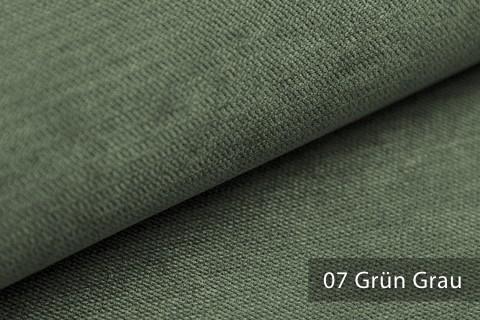 novely® ORMONT samtig weicher Chenille in 18 Farben Polsterstoff Möbelstoff | Farbe 07 Grün Grau