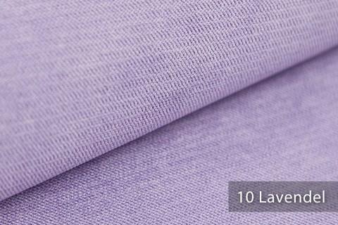 novely® ORMONT samtig weicher Chenille in 18 Farben Polsterstoff Möbelstoff | Farbe 10 Lavendel