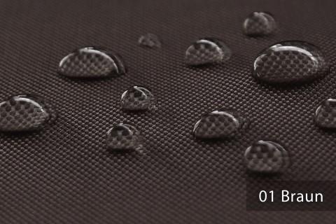 novely® OXFORD BIG Polyester 600D Stoff PVC Segeltuch Farbe 01 Braun